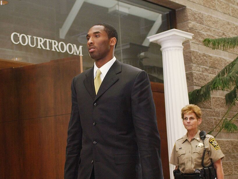 Kobe Bryant Attends Pre-Trial Suppression Hearing