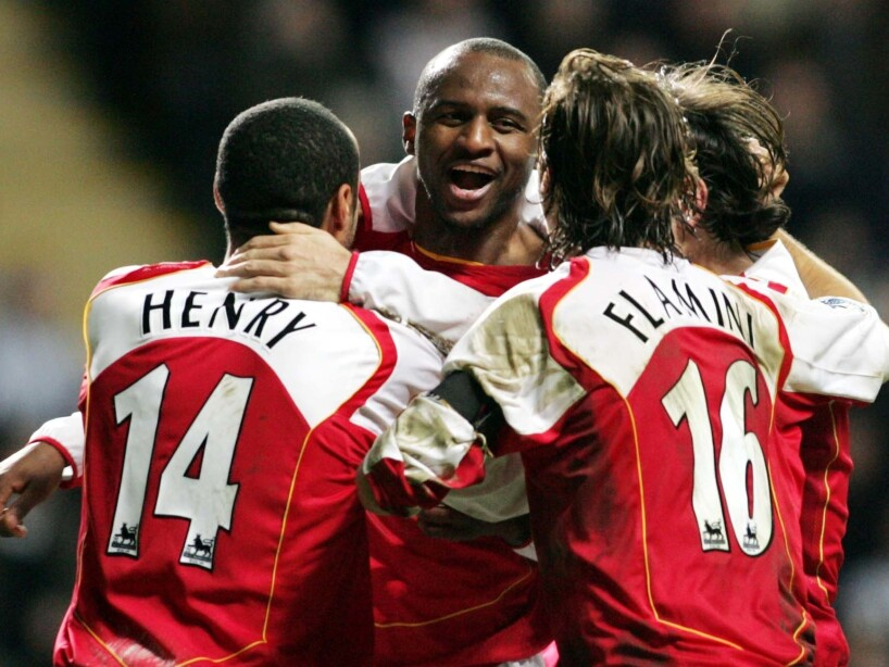France Spotlight Henry vs Vieira