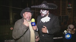 Al panteón con Carlos Trejo