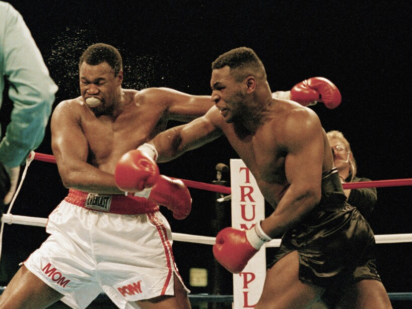 Larry Holmes, Mike Tyson