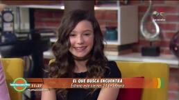 ¡Mía Rubín comparte detalles de su debut en cine!