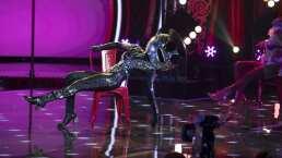 Disco Ball sorprende con sus dotes en el Pole Dance al interpretar 'Lady Marmalade'