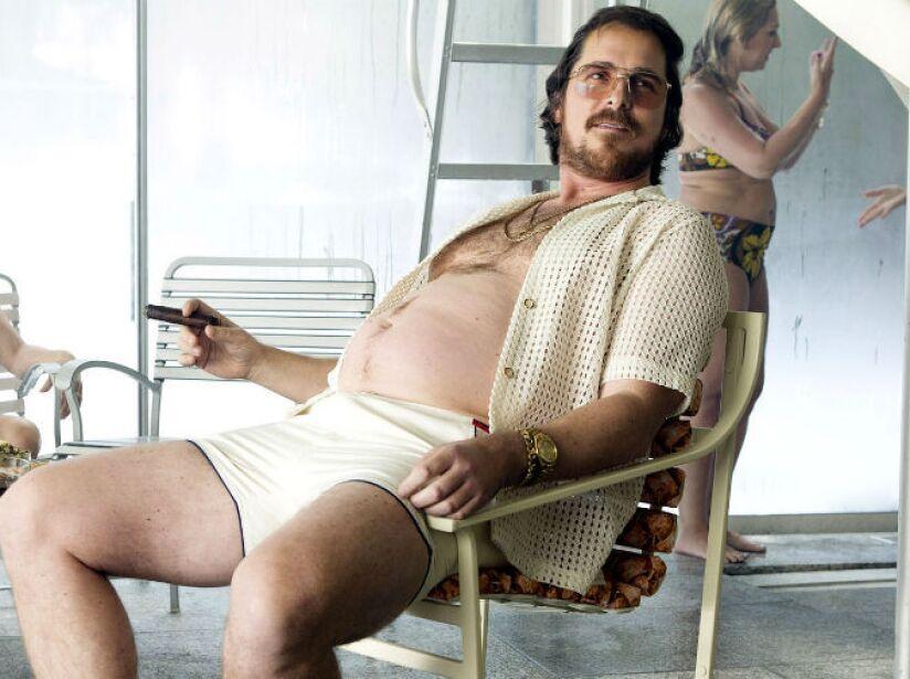 Aún con pancita no pierde su atractivo, ¿quién le diría que no a Christian Bale? ¡No mientan!