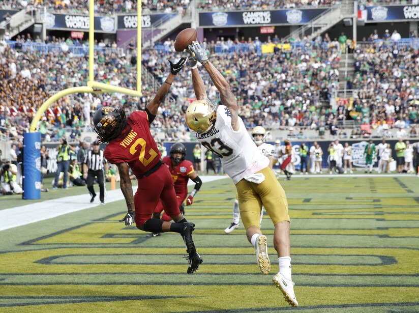 Camping World Bowl: Notre Dame 33-9 Iowa State
