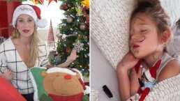 La travesura que los elfos le hicieron a Alexa, hija de Geraldine Bazán: 'No lo puedo creer'