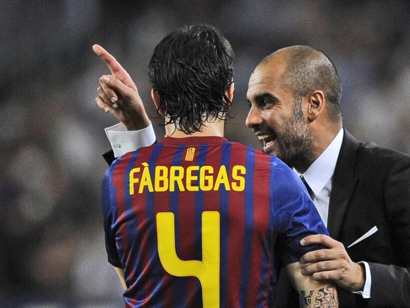 Josep Guardiola, Cesc Fabregas