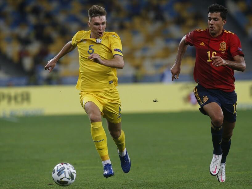 Ukraine Spain Nations League Soccer