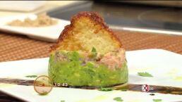 Cocina Chef Gibaja ´Timbal de Aguacate con Salmón´ 24 abril