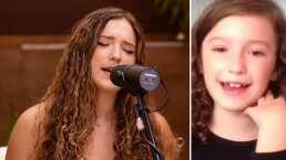Mía Rubín comparte pruebas de su pasión por la música desde muy niña con increíble cover de Jesse & Joy