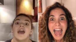 De cuando se te va el avión: Lucero hace icónica imitación de su hija Lucerito Mijares en TikTok