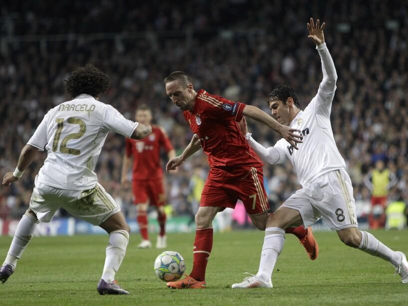 Franck Ribery - Marcelo Vieira - Kaka
