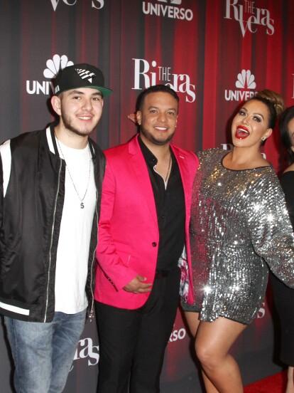Jenicka, Mike, Chiquis, Jacqie y Juan Ángel, además de Lorenzo Méndez, se reunieron para presentar la cuarta temporada del reality show 'The Riveras' en Los Ángeles, California.