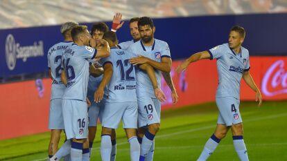 Joāo Félix se lució con doblete, también marcaron Llorente, Morata y Carrasco, en una importante victoria del 'Atleti' en su visita ante Osasuna.