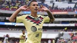 Mateus Uribe mete un gran remate de cabeza para el 2-1 sobre Monterrey