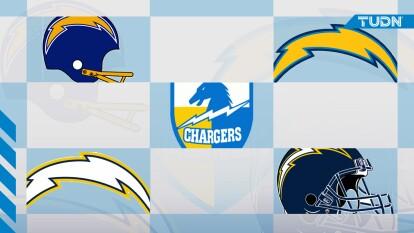 El logo de los Chargers ha ido cambiando a través de los años; su evolución inyecta energía y fuerza.