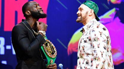 Entre sonrisas y bromas, Deontay Wilder y Tyson Fury presentaron la segunda pelea por el título mundial de los pesados que ostenta Wilder, será en febrero.
