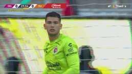 ¡Benny Díaz ya es factor! Ataja tiro de Ponce y otro de Antuna