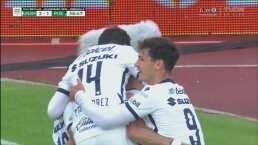 ¡Puebla se desinfla! Carlos González da la voltereta 2-1 de penalti