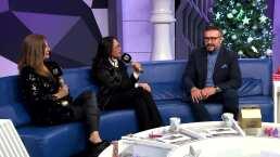 'Montse y Joe' inician el año partiendo Rosca de Reyes con Arturo Peniche y Francisco Céspedes