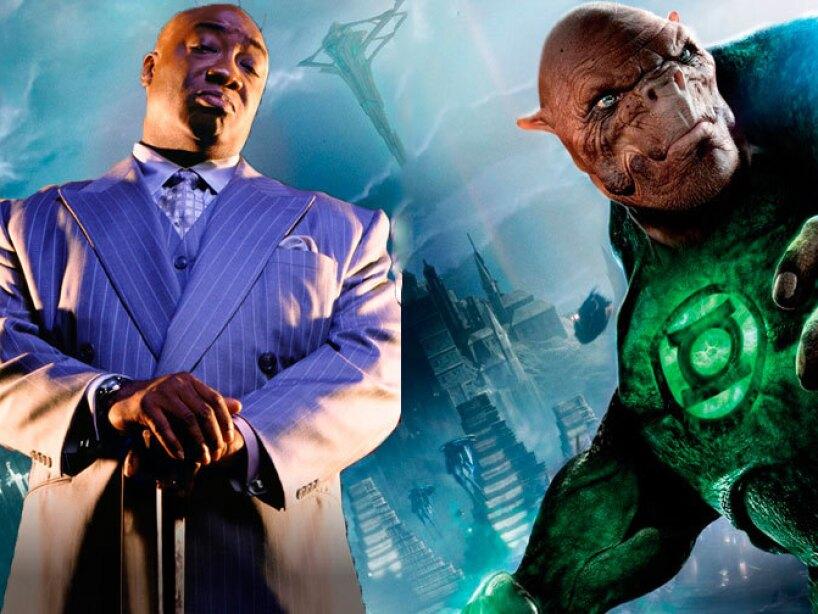 Michael Clarke Duncan como Wilson Fisk en Daredevil y Kilowog en Linterna Verde.
