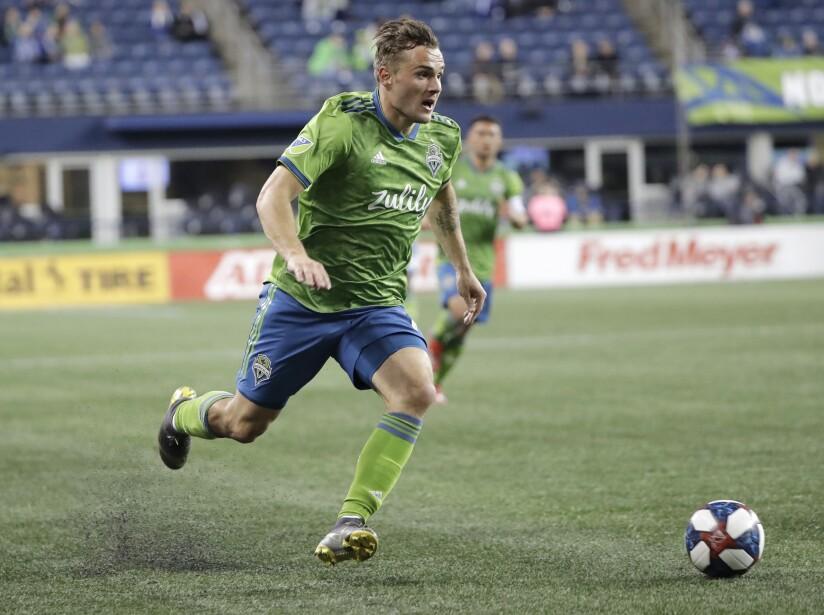MLS Sounders Morris Returns Soccer
