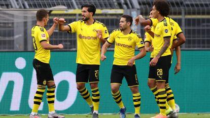 Con solitario gol de Emre Can, el Borussia Dortmund logra imponerse al Hertha Berlín en la jornada 30 de la Bundesliga.