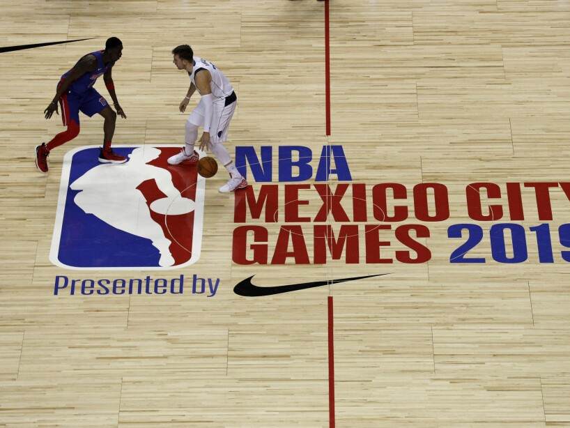 Mexico Pistons Mavericks Basketball