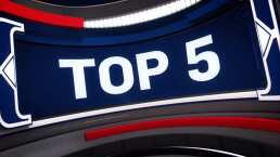 Nuggets encabezan Top 5 en la NBA
