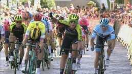 Matteo Trentin gana la segunda etapa del Tour de Gran Bretaña