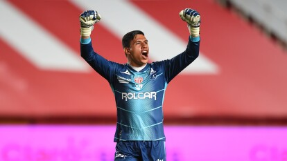 Necaxa sumó tres en su 97 aniversario ante Santos | Santos Laguna cayó en Aguascalientes 2-1 en la sexta fecha del Guard1anes 2020 de la Liga BBVA MX.