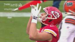 ¡Chiefs no perdonan! Incrementan ventaja 3-19 ante Browns
