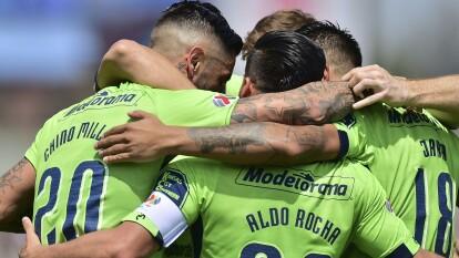 Monarcas Morelia venció a Pumas 1-2 con goles de Millar y Sansores, por los de casa marcó Quintana.