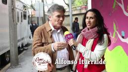 Detrás de cámaras del Dicho con Alfonso Iturralde
