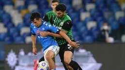 Exagente del Napoli veía a 'Chucky' Lozano para un club de primer nivel