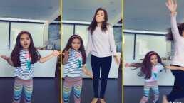 Aitana Derbez se desquita con su mamá y la saca de un 'empujón' de su tiktok