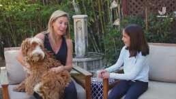 Jessica Lindsey muestra su gran voz junto a su perrito, Rye