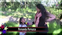 ENTREVISTA: Fernanda Ferruzca, una niña molestona que ayuda a salvar a su hermano del suicidio