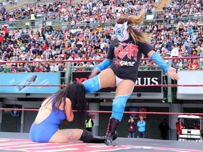Las damas también lucharon en el SpeedFest.jpeg