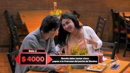 El reto de 'Vas Con Todo' que vas a querer hacer: comer papas fritas del pecho de tu novia