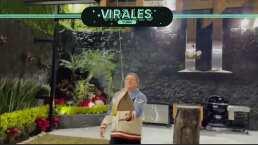 Miguel Herrera recibe hamburguesas por drone