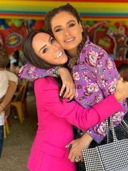 Tanto Galilea Montijo como Inés Gómez Mont suelen recurrir a los servicios de 'Pam Hermo Eventos' para organizar las fiestas de sus hijos.