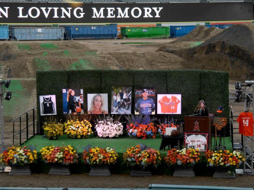 Altobelli Family Memorial at Angel Stadium