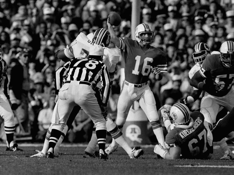 Redskins vs Dolphins Super Bowl XVII 1983