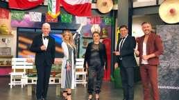 """""""Estoy en shock"""": Andrea Legarreta se impacta con la visita de la 'mami chula' más elegante de 'Hoy'"""