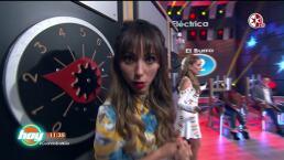Daniela Luján se puso como 'Carrie' en La Silla Eléctrica