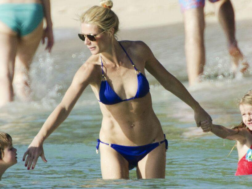 4. Gwyneth Paltrow: La actriz tuvo dos hijos con Chris Martin, vocalista de Coldplay, ¿sus nombres? Apple y Moses.