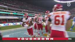 Acarreo de seis yardas de LeSean McCoy para el touchdown