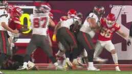 ¡Gran defensiva! Los Chiefs paran a Tampa a una yarda del TD