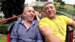 Ricardo Hill desde las alturas con Franky Mostro