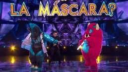 Cebra y Monstruo se enfrentan en un duelo de baile en ¿Quién es la Máscara?